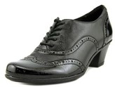 Earth Fennel Women Round Toe Synthetic Black Oxford.
