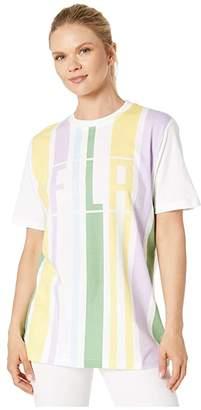 Fila Dulce Tee (White/Pastel Lilac/Pale Banana/Cashmere Blue/Feldspar) Women's T Shirt