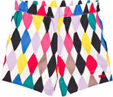Sonia Rykiel Harlequin Print Shorts
