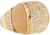 Rachel Zoe Crystal Cocktail Ring