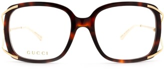 Gucci Oversized Square Framed Glasses