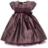 Marie Chantal Taffeta Smock Dress