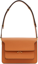 Marni Orange Medium Trunk Bag
