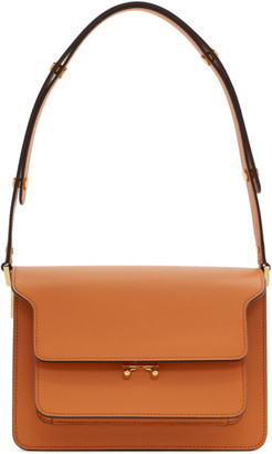 Marni Orange Medium Trunk Bag