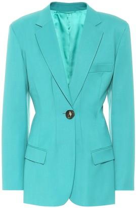 ATTICO Donna stretch-wool blazer