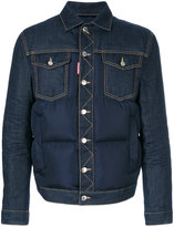DSQUARED2 padded denim jacket - men - Cotton/Feather Down/Polyester/Polyimide - 46