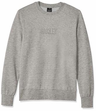 Oakley Mens Men's Clean Logo Crew Fleece
