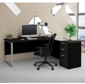 Comm Office Kadian Modern Reversible L-Shape Corner Desk Comm Office