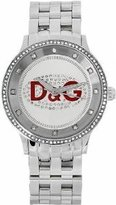 Dolce & Gabbana Women's DW0144 Prime Time Stainless Steel Red Accent Watch