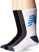 New Balance Men's Performance 3 Pack Crew Socks