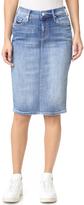 Mother The Peg Leg Slit Skirt