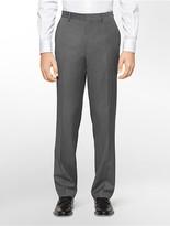 Calvin Klein Classic Fit Grey Ministripe Suit Pants