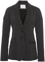 Tibi Cecil Striped Blazer