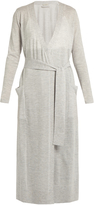 LE KASHA Delhi fine-knit cashmere cardigan