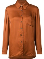 Raquel Allegra Front Pocket Blouse