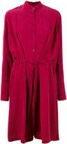 Joseph belted shirt dress - women - Silk/Cotton - 40