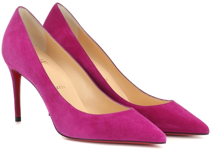 the latest 73120 2c605 Kate 85 suede pumps
