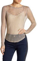 Wow Couture Metallic Knit Top