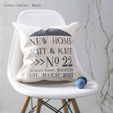 Oakdene Designs New Home Cushion Personalised For New Home Owners