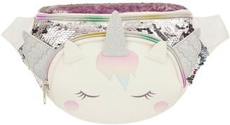 Monsoon Girls Whispie Wings Sequin Bumbag - Multi