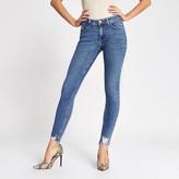 River Island Blue Amelie super skinny jeans