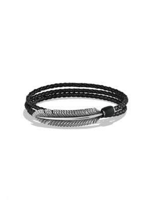 David Yurman Southwest Feather Wrap Bracelet