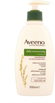 Aveeno Daily Moisturising Sweet Almond Creamy Oil 300Ml