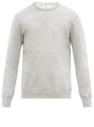 Reigning Champ Logo-patch Cotton-terry Sweatshirt - Light Grey