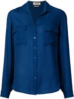 L'Agence chest pockets shirt