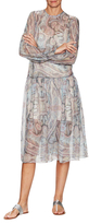 Zimmermann Paisley Gemma Silk Midi Dress