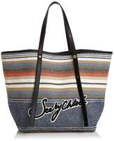 See by Chloe Andy Striped Denim Tote