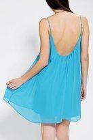 Sparkle & Fade Chiffon Swing Slip Dress