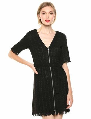 Bardot Women's Boucle Zip Dress