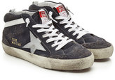 Golden Goose Deluxe Brand Mid Star Suede and Leather Sneakers