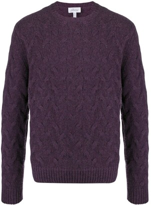Brioni Cable Knit Jumper