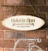 The Letteroom Personalised 'Spa' Wooden Sign