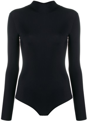 Maison Margiela Four-Stitch Detail Bodysuit