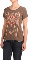 Roper Heather Jersey Slouchy T-Shirt - Short Sleeve (For Women)