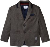 HUGO BOSS Milano Suit Jacket (Kid) - Gris Fence - 5A