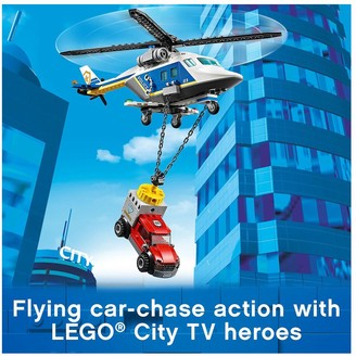 Lego 60243 Police Helicopter Chase with ATV, Motorbike and Truck