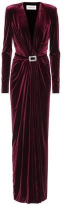 Alexandre Vauthier Velvet gown