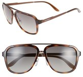 Carrera Eyewear 57mm Navigator Sunglasses