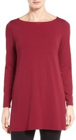 Eileen Fisher Women's Jersey Bateau Neck Tunic
