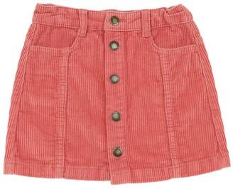 Molo Cotton Corduroy Mini Skirt