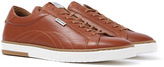 Barbour Howdon Tan Leather Trainers
