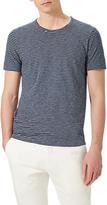 Jigsaw Short Sleeve Stripe T-Shirt, Navy