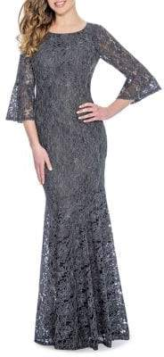 Decode 1.8 Bell-Sleeve Gown