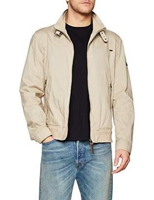Daniel Hechter Men's Blouson Jacket, (Beige 400), Large (Size: 52)
