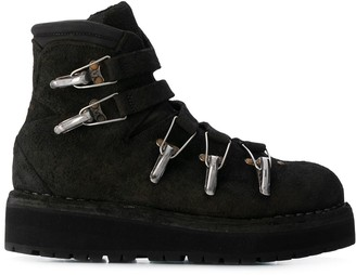 Guidi 22 blkt bison riversed lined