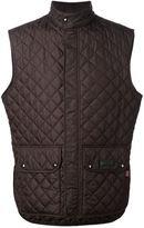 Belstaff quilted waistcoat - men - Polyester/Acetate/Cupro - 46